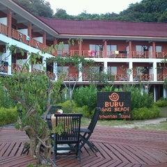 Photo taken at Bubu Long Beach Resort by Rasdi J. on 10/11/2012