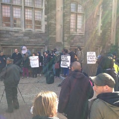 Photo taken at Mitten Hall by Yingying W. on 4/16/2014