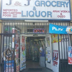 Photo taken at J & J Grocery & Liquor by Osei K. on 9/25/2012