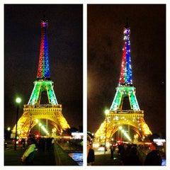 Photo taken at Hôtel Auteuil Tour Eiffel by Gabriel O. on 6/1/2013
