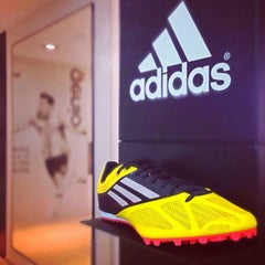 Photo taken at Adidas by  PolloSCL on 2/16/2014