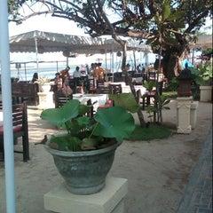 Photo taken at Pantai Segara Ayu by IKetut Adi S. on 9/29/2012