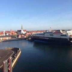 Photo taken at H/F Leonora Christina (Ystad-Rønne) by Thomas B. on 11/17/2013