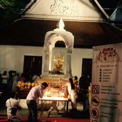 Photo taken at เทวสถาน (โบสถ์พราหมณ์) Dhevasathan (Brahmin Shrines) by Juicy J. on 1/24/2016