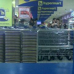 Photo taken at Hypermart gajah mada by guruh s. on 9/18/2012