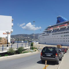 Photo taken at Port Of Crete by Evgeniy P. on 5/12/2013