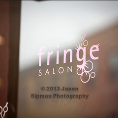 Photo taken at Fringe Salon by Fringe Salon on 10/11/2013
