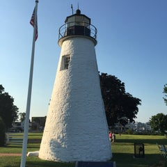 Photo taken at Concord Point and Lighthouse by Randy C. on 8/14/2015