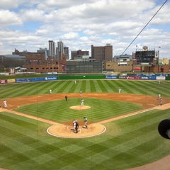 Photo taken at Dozer Park by Jessie F. on 4/20/2013