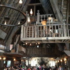 Photo taken at The Three Broomsticks by Jackie C. on 7/26/2013