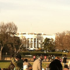 Photo taken at The Ellipse — President's Park South by Dave N. on 12/6/2012