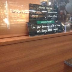 Photo taken at Starbucks by Josh v. on 4/4/2014