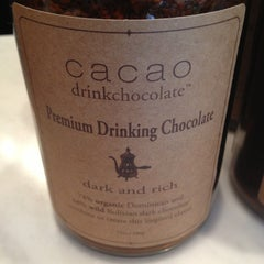 Photo taken at Cacao Drink Chocolate by Kronda A. on 3/29/2013