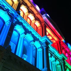 Photo taken at The Grand Opera House by Amy M. on 10/20/2012