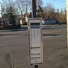 Photo taken at 60 Bus Stop by Thomas Z. on 4/10/2014
