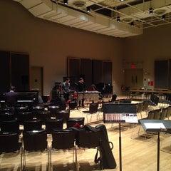 Photo taken at Irene Diamond Education Center (IDEC), Frederick P. Rose Hall, Home of Jazz at Lincoln Center by Matt on 1/11/2014
