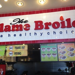 Photo taken at The Flame Broiler by Mark W. on 5/28/2014
