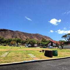 Photo taken at Diamond Head Memorial Park Cemetery by Eathan O. on 7/16/2013