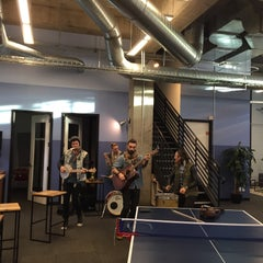 Photo taken at SoundCloud SF by laurie b. on 1/31/2015
