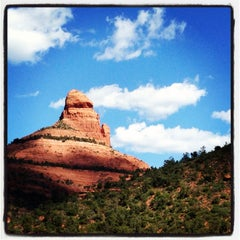 Photo taken at Sedona Red Rocks by Annelies M. on 7/29/2013