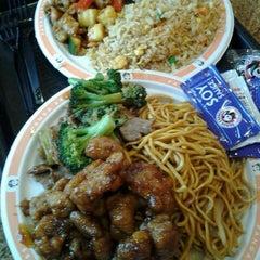 Photo taken at Panda Express by Jenn W. on 12/10/2012