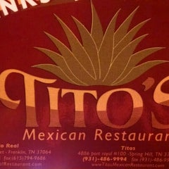 Photo taken at Tito's Mexican Restaurant by Amy Y. on 7/27/2015