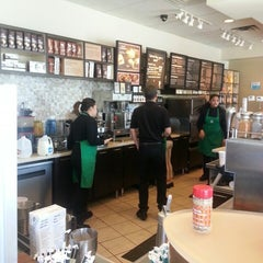 Photo taken at Starbucks by Bonnie F. on 2/1/2014