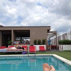 Photo taken at Penthouse Pool Club by Thomas B. on 6/20/2013