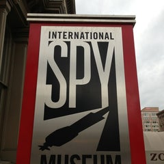 Photo taken at International Spy Museum by Igor B. on 1/30/2013