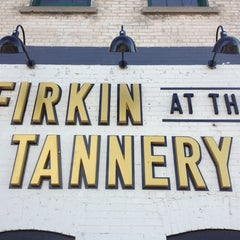 Photo taken at Firkin at the Tannery by Aaron C on 5/30/2013