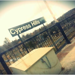 Photo taken at MTA Subway - Cypress Hills (J) by Santiago T. on 3/19/2015