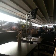 Photo taken at Mezzaluna by Mariela M. on 12/31/2012