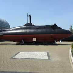 Photo taken at Submarine Force Library & Museum by Lou H. on 8/1/2015
