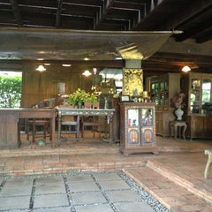 Photo taken at Baan Tye Wang, Ayuttaya by Arend on 8/2/2013