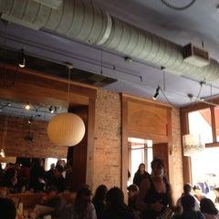 Photo taken at Café Zola by Clayton on 10/27/2012