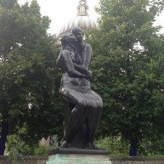 Photo taken at St Paul's Churchyard by Maverickaizer on 8/10/2013