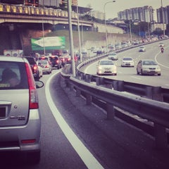 Photo taken at East-West Link Expressway by Joey C. on 9/2/2013