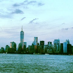 Photo taken at New York Harbor by Andre A. on 7/11/2013