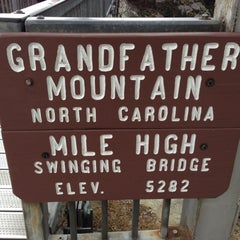 Photo taken at Grandfather Mountain by Rachel M. on 11/25/2012
