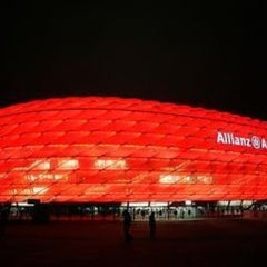 Photo taken at Allianz Arena by fucking on 4/2/2013