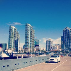 Photo taken at Downtown San Diego by Aristoteles R. on 2/17/2013