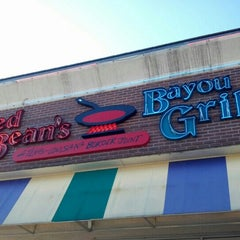 Photo taken at Red Beans Bayou Grill by Eliza J. on 10/4/2012