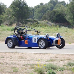 Photo taken at Circuit De Calafat by Geraldine M. on 4/11/2015