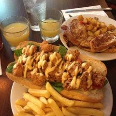 Photo taken at Jimmy J's Cafe by Lindsay C. on 10/7/2012