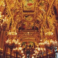 Photo taken at Opéra Garnier by Nathalie R. on 7/5/2013