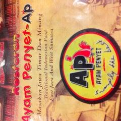 Photo taken at Restoran Ayam Penyet- AP by akma z. on 9/22/2014