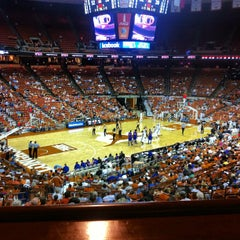 Photo taken at Frank Erwin Center (ERC) by Patricia on 12/1/2012