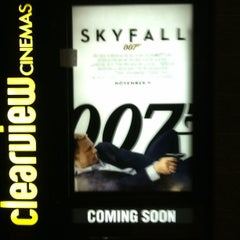 Photo taken at Bow Tie Cinemas Hoboken by Philip M. on 10/10/2012