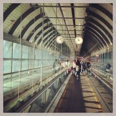 Photo taken at Terminal 1 by Rosa J. on 1/5/2013