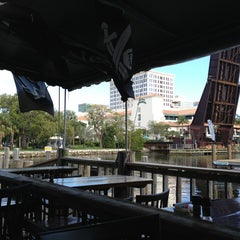 Photo taken at The Pirate Republic Seafood & Grill by Lee C. on 2/5/2013